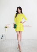 Tp. Hồ Chí Minh: Đầm suông SENA tay phối màu CL1363201P11