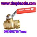 Tp. Hồ Chí Minh: Van bi đồng MIHA tay gạt PN16 Dn100 (F 114) CL1358541P7
