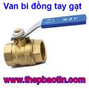 Tp. Hồ Chí Minh: Van bi đồng tay gạt MBV - PN16 Dn32 - F42 CL1358541P7