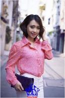 Tp. Hồ Chí Minh: Áo đẹp III 121 LyÁo sơ mi caro hồng đỏ ( hàng 100% hình) CL1363201P11