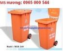 Tp. Hà Nội: Chuyên thùng rác công cộng 100L, 120L, 240L, xe gom đẩy rác các loại, 0965000544 CL1338287