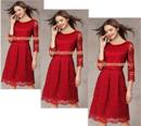 Tp. Hồ Chí Minh: Đầm ren dài tay sang trọng, đầm ren nữ 2014 CL1363201P5
