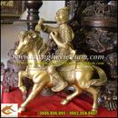 Tp. Hà Nội: Tượng cưỡi ngựa, tượng khỉ phong hầu, tượng thăng quan tiến chức CL1356181