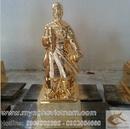 Tp. Hà Nội: Tượng đồng bác hồ trần hưng đạo và quan vân trường khổng minh CL1356181