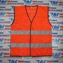 Tp. Hồ Chí Minh: Áo phản quang màu cam vải lưới 2 sọc xám -123 CL1346664