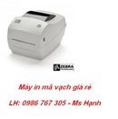 Tp. Hà Nội: Bán máy in mã vạch Zebra GC420D giá rẻ RSCL1684009