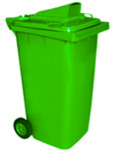 Bà Rịa-Vũng Tàu: Thùng rác công cộng, thùng rác công viên, xe thu gom rác loại 240 lít CL1350614
