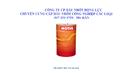 Tp. Hồ Chí Minh: 097 339 3750- cung cấp dầu nhớt bôi trơn động cơ chính hãng - giá tốt CL1364086