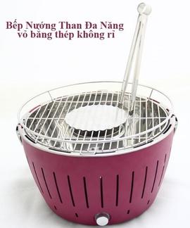 Bếp nướng than hoa không khói Nam Hồng Việt Nam, bếp điện lẩu và nướng 2 trong 1
