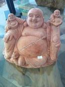 Tp. Hà Nội: Tượng di lặc ngồi kéo tiền về nhà gỗ nu long não CL1424859