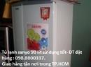 Tp. Hồ Chí Minh: Bán máy giặt sanyo 7 kg và tủ lạnh Sanyo 110 lít, 130 lít sử dụng tốt RSCL1110150