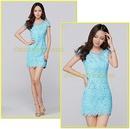 Tp. Hồ Chí Minh: Đầm ren ôm thiên thanh - thời trang mùa hè nữ 2014 CL1362368