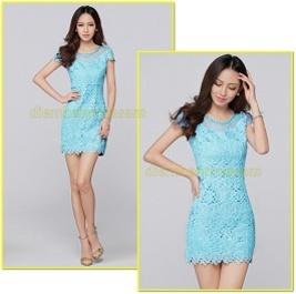Đầm ren ôm thiên thanh - thời trang mùa hè nữ 2014