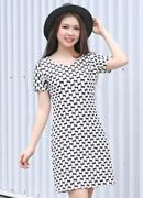 Tp. Hồ Chí Minh: Đầm suông công sở nữ họa tiết cổ điển CL1362368