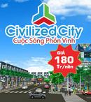Bình Dương: Mở bán giai đoạn 2 thành phố mới Bình Dương Civilized City LH:MS BÌNH 0916162510 CL1363837