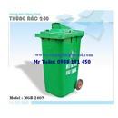 Tp. Hà Nội: Thùng rác khu đô thị 240l, thùng rác công cộng 240L xe gom rác RSCL1696592