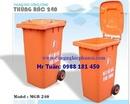 Tp. Hà Nội: Xe gom rác, thùng rác công cộng(120L, 240,1110L) ,thùng rác nhập Thái RSCL1696592