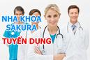 Tp. Hà Nội: Nha khoa Sạkura tuyển KD, điều dưỡng và bác sỹ răng hàm mặt CL1387699P8