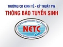Tp. Hà Nội: Xét NV2 Học Kế Toán. CĐ Kinh Tế Kỹ Thuật Trung Ương Tuyển Sinh CL1354197