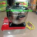 Tp. Hà Nội: Máy nổ ngô bằng bếp ga mini động cơ quay ắc quy giá rẻ. CAT17_133_377