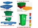 Bắc Ninh: thùng rác -thùng nhựa, pallet nhựa -Thung rac cong cong-thùng rác có nắp-có bánh CL1385894P6