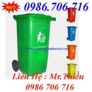 Tp. Hà Nội: Thùng rác công cộng 120 lít, 240 lít, Xe gom rác 400-1100l(Tôn, Nhựa) CL1385894P3