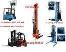 Tp. Hà Nội: xe nâng bán tự động 1tấn -1,5 tấn, nâng cao 1. 6-3. 3m, xe nâng động cơ 1t-10t CL1385808