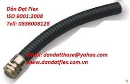 Model: DE 200 ống bù trừ giãn nở-khop gian no, khớp nối mềm, ống luồn dây điện