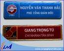 Tp. Hồ Chí Minh: làm bảng tên nhân viên, bảng tên đeo trước ngực LH ms hạn 0907077269 CL1209630