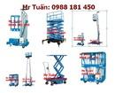 Tp. Hà Nội: Giá Rẻ Nhất Thang nâng điện 125kg-600kg, thang nâng rút cao 6met, thang nâng SJY c CL1024019P11
