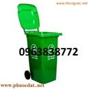 Tp. Hồ Chí Minh: Thùng rác giá rẻ: thùng rác công nghiệp, thùng rác 120L. 0963838772 CL1110045
