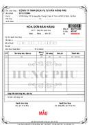 Tp. Hồ Chí Minh: In Hóa Đơn Đỏ Nhanh Rẻ nhất Tp. HCM CL1396512
