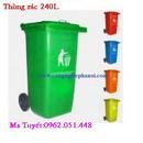 Tp. Hà Nội: Chuyên bán Thùng rác công cộng HDPE, composite (60 lít-240 lít) CL1397582P5