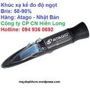 Tp. Hồ Chí Minh: Khúc xạ kế đo độ ngọt cầm tay 58-90% Atago Master-3M RSCL1691854