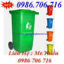 Tp. Hà Nội: Chuyên thùng rác, thung rac, thùng rác công cộng 55,95, 120,240 lít CL1397582P5