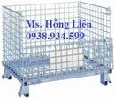 Tp. Hồ Chí Minh: Lồng thép, lồng lưới thép, lồng sắt, pallet thép, pallet lưới, lồng trữ hàng CL1397605