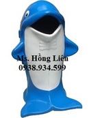 Tp. Hồ Chí Minh: Thùng rác chim cánh cụt, thùng rác hình con vật, thùng rác hình con thú CL1397605