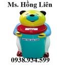 Tp. Hồ Chí Minh: Thùng rác hình con gấu, thùng rác hình con voi, pallet thép, lồng trữ hàng CL1397605