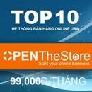 Tp. Hồ Chí Minh: OpenTheStore –Hệ thống bán hàng trực tuyến –Tất cả trong 1. Top 10 tai USA . CL1402694