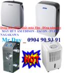 Tp. Hà Nội: Máy hút ẩm, máy lọc không khí, Máy hút ẩm dân dụng FujiE HM-610EB CL1408915