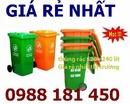 Tp. Hồ Chí Minh: Thùng rác 120 lit, Thùng rác 240 lit, thùng rác màu xanh cam, Thùng rác nhập khẩu CL1402692