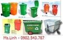 Tp. Hồ Chí Minh: thùng rác công nghiệp, thùng rác 120 lít, thùng rác 240 lít CL1410117