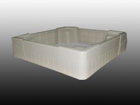 chân máy giặt, tủ lạnh bằng nhựa và Inox sử dụng bền đẹp- 098. 8800337