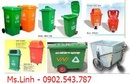 Tp. Hồ Chí Minh: thùng đựng rác công nghiệp, xe đẩy rác CL1410117