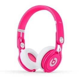 Tai nghe beats mixr neon pink headphone