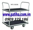 Bình Dương: 0909373186 Bán xe đẩy hàng 4 bánh 300kg Giá rẻ nhất thị trường RSCL1385894