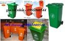 Tp. Hà Nội: tìm đại lý thùng rác, chuyên bán buôn bán lẻ thùng rác công cộng 120 lít - 240 l CL1409083P10