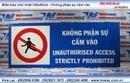 Tp. Hồ Chí Minh: LJ-241-032 Biển chữ nhật 100x40cm - Không phận sự cấm vào Đỗ Đình Nguyện CL1410118P10
