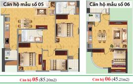 Chính chủ bán nhà chung cư CT2C Nghĩa Đô, căn 2105, DT 85. 20m2, 3 phòng ngủ.