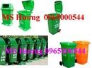 Đồng Nai: Đại lý thung rac cong cong, thùng rác nhựa 120 lít, thùng rác 240 lít, xe gom rá CL1408700